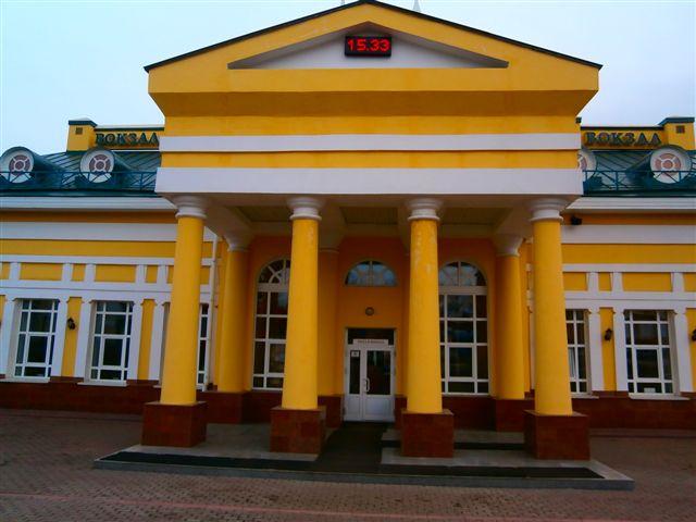 Вокзал Юрга-1