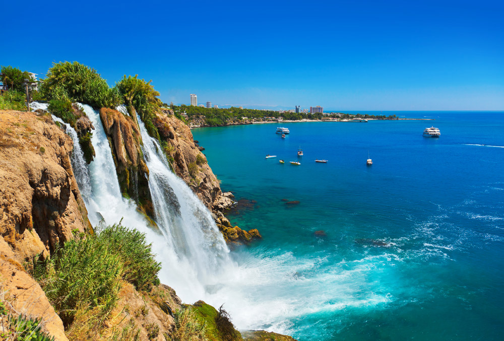 водопады турция фото простые
