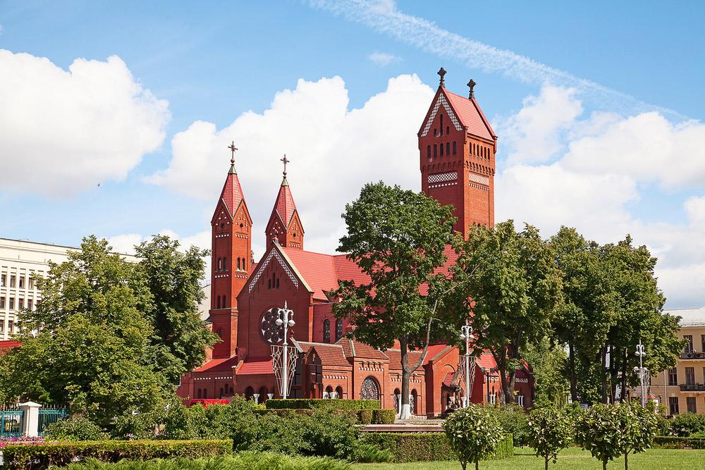 Костел св. Симеона и Елены в Минске