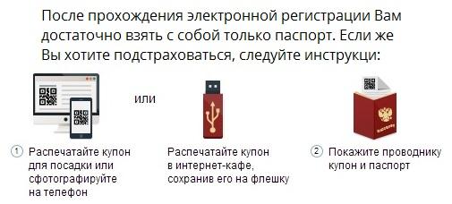 Электронная регистрация на Сапсан на сайте Tutu.ru