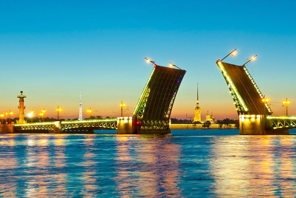 5 самых известных и красивых мостов города Санкт-Петербург