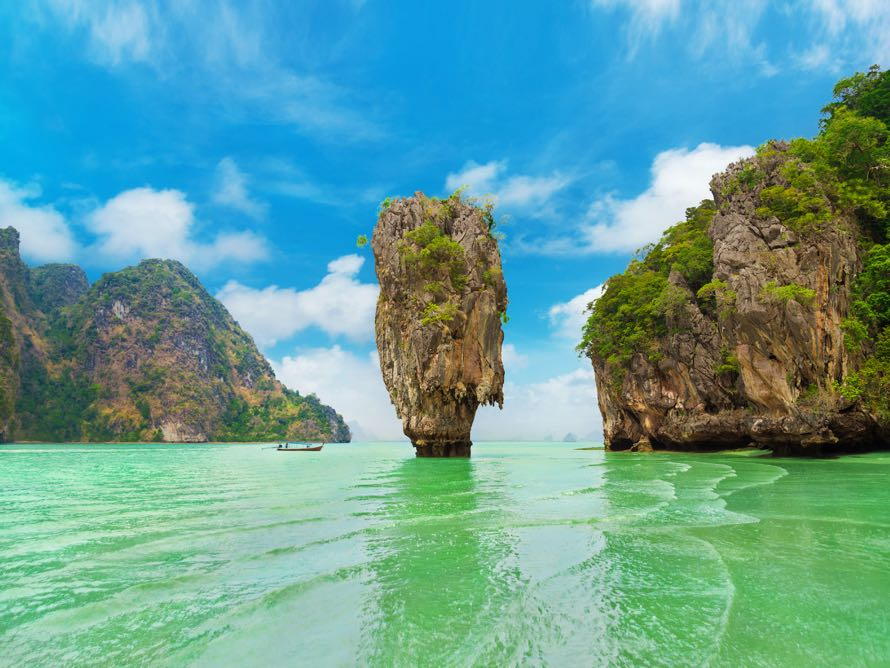 Джеймса Бонда в Таиланде