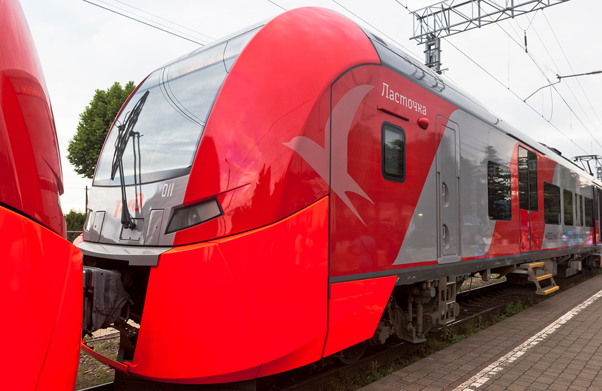 Вагон поезда Ласточка