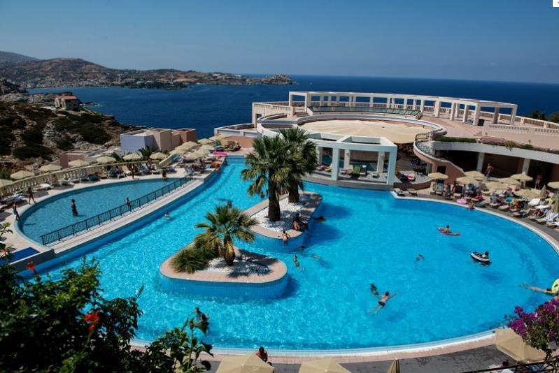 Отель Athina Palace, Крит, Греция.