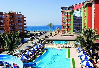 Пляжный отель свободного секса